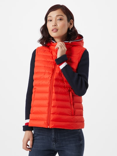 TOMMY HILFIGER Weste 'TH ESSENTIAL LW DWN PACK' in orange, Modelansicht