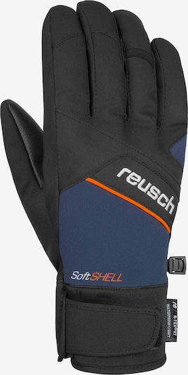 REUSCH Fingerhandschuh 'Luke R-TEX® XT' in blau / orange, Produktansicht