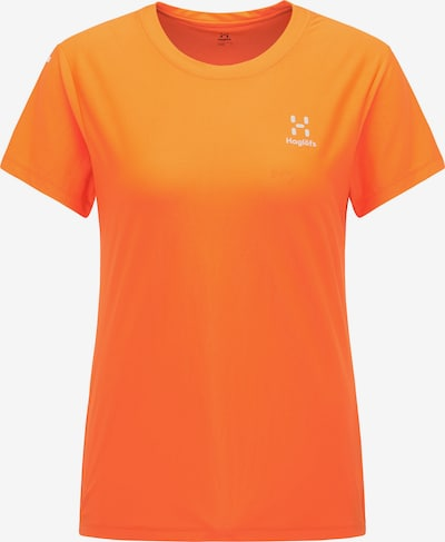 Haglöfs Functioneel shirt 'L.I.M Tech' in de kleur Lichtgrijs / Sinaasappel, Productweergave