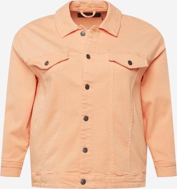 Vero Moda Curve Välikausitakki värissä oranssi