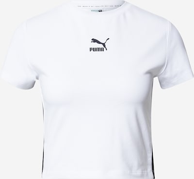 Tricou PUMA pe negru / alb, Vizualizare produs