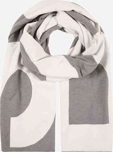 BOSS Chal en gris / blanco, Vista del producto