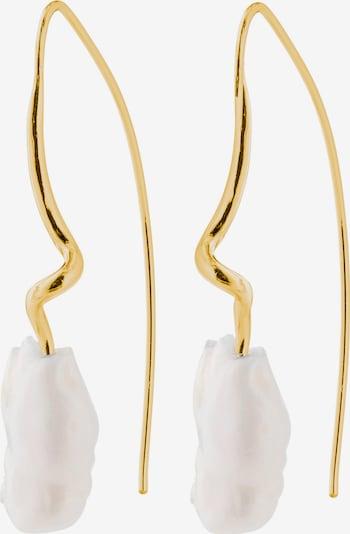 Pilgrim Σκουλαρίκια 'Noel' σε χρυσό / λευκό, Άποψη προϊόντος