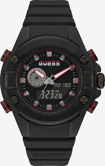 GUESS Digitaluhr in rot / schwarz, Produktansicht