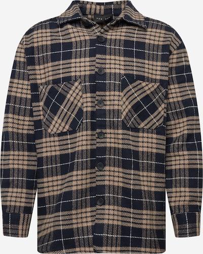 Pegador Košeľa 'Delta' - svetlobéžová / tmavomodrá / biela, Produkt