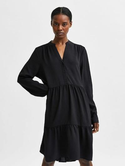SELECTED FEMME Kleid in schwarz, Modelansicht