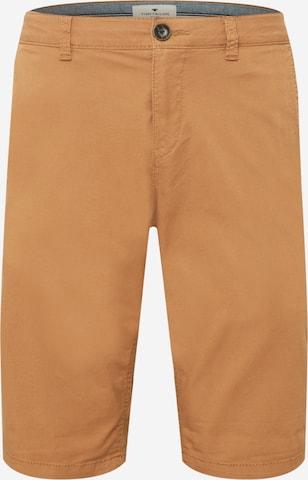 TOM TAILOR Shorts 'Josh' in Braun