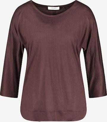 GERRY WEBER Shirt in Brown