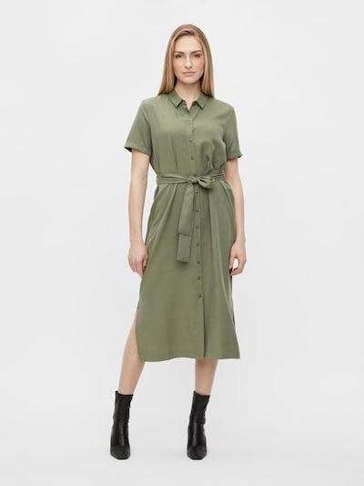 OBJECT Košilové šaty 'OBJTILDA ISABELLA' - zelená, Model/ka