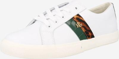 Lauren Ralph Lauren Sneakers 'JANSON II' in Brown / Green / Black / White, Item view