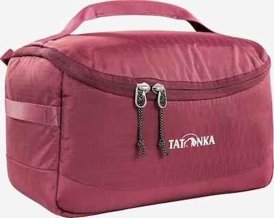 TATONKA Kulturtasche in bordeaux / weiß, Produktansicht