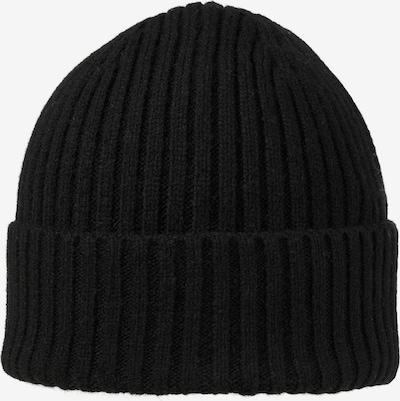 JACK & JONES Bonnet 'Prime' en noir, Vue avec produit