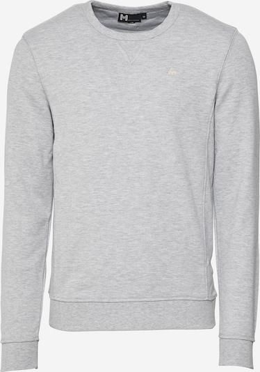 Hailys Men Sweat-shirt 'Jamie' en jaune / gris chiné, Vue avec produit