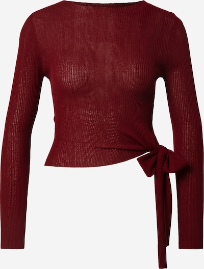Parallel Lines Pullover in rot, Produktansicht