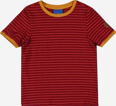 FINKID T-Shirt 'RENKAAT' en moutarde / orange / rouge foncé, Vue avec produit