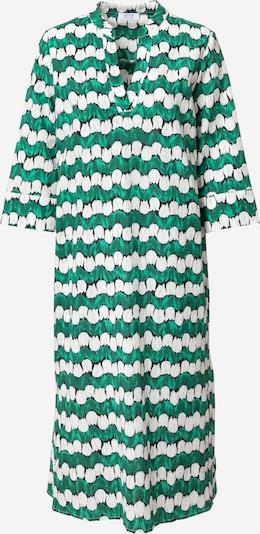 Rochie tip bluză Love & Divine pe verde iarbă / verde deschis / negru / alb, Vizualizare produs