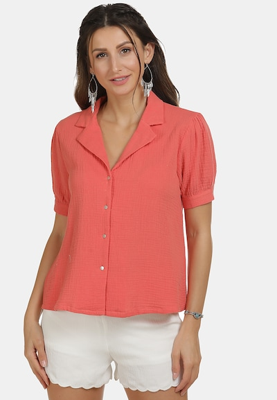 IZIA Bluse in pink, Modelansicht