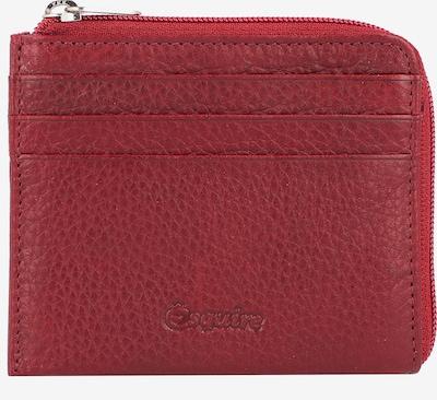 Esquire Oslo Kreditkartenetui RFID Leder 10,5 cm in rot, Produktansicht