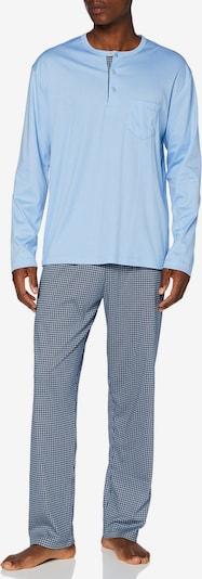 CALIDA Pyjama in hellblau, Produktansicht