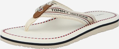 TOMMY HILFIGER T-bar sandals 'Artisanal' in Mixed colours / White, Item view