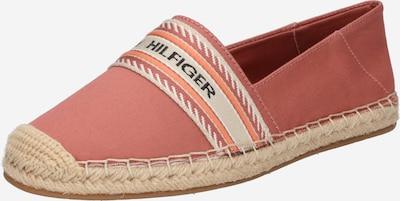 TOMMY HILFIGER Espadrilles 'ARTISANAL' in beige / koralle / rosé / schwarz, Produktansicht