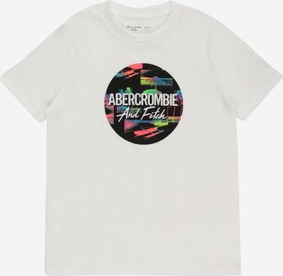 Abercrombie & Fitch Camiseta 'MAY' en azul / verde claro / salmón / negro / offwhite, Vista del producto