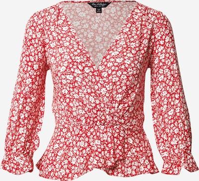 Camicia da donna Miss Selfridge di colore rosso / bianco, Visualizzazione prodotti