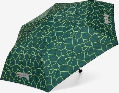 ergobag Regenschirm in grün, Produktansicht