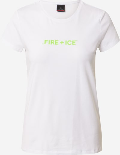 Bogner Fire + Ice T-shirt 'AUREA' en kiwi / blanc, Vue avec produit