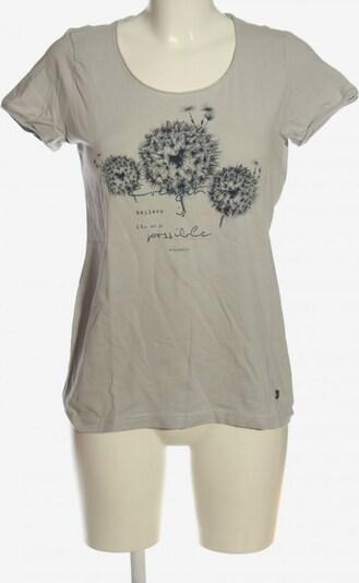 s'questo Strickshirt in M in schwarz / wollweiß, Produktansicht