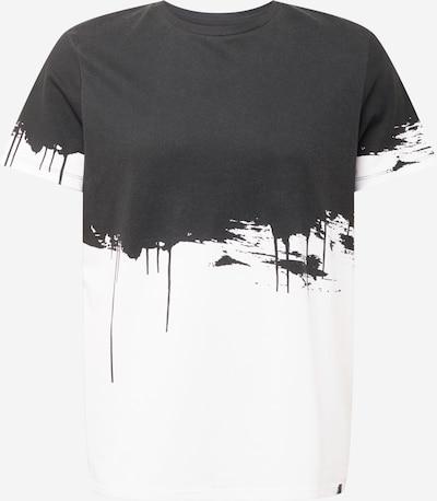 JACK & JONES Tričko 'BRUCK' - čierna / biela, Produkt
