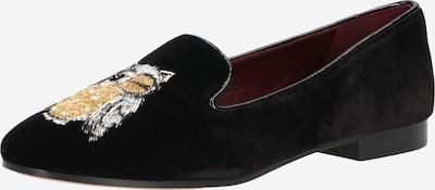 Kate Spade Slipper 'LOUNGE WINK' in gold / schwarz / weiß, Produktansicht