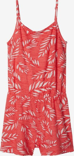 NAME IT Playsuit in rot / weiß, Produktansicht
