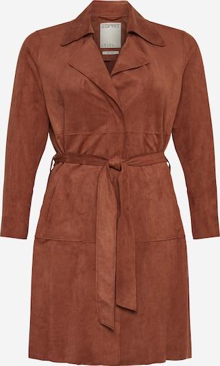 Esprit Curves Overgangsfrakke i brun, Produktvisning