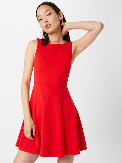 VIERVIER Kleid 'Larissa' in rot, Modelansicht