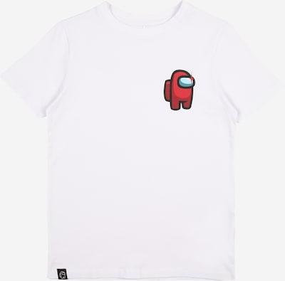 Tricou LMTD pe roșu / negru / alb, Vizualizare produs