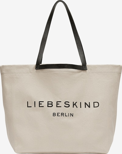 Liebeskind Berlin Shopper 'Aurora' in de kleur Beige / Zwart, Productweergave