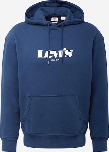 LEVI'S Sweater majica u tamno plava / bijela, Pregled proizvoda