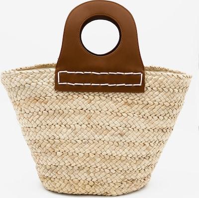 Kamoa Strandtasche in beige / braun, Produktansicht