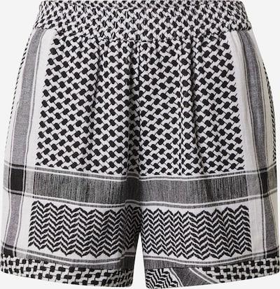 Cecilie Copenhagen Hlače | črna / bela barva, Prikaz izdelka