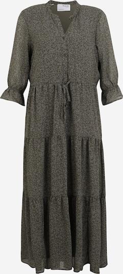 Selected Femme Petite Robe-chemise 'GAIA-DAMINA' en vert foncé, Vue avec produit