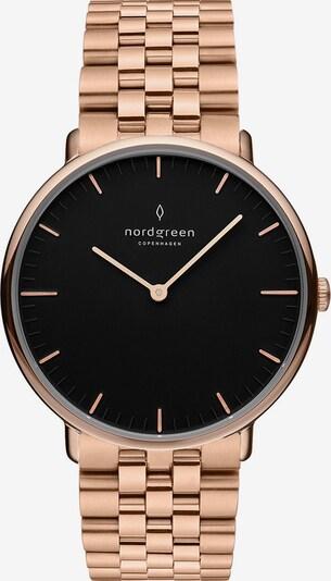 Nordgreen Uhr in rosé / schwarz, Produktansicht
