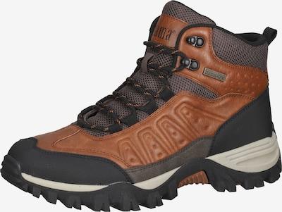 Bama Boots in cognac / grau / schwarz, Produktansicht