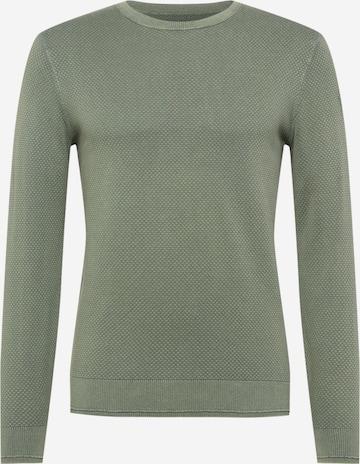 zaļš TOM TAILOR Džemperis
