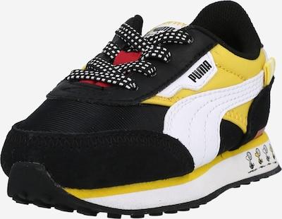 PUMA Tenisice 'PEANUTS Future Rider' u žuta / crna / bijela, Pregled proizvoda