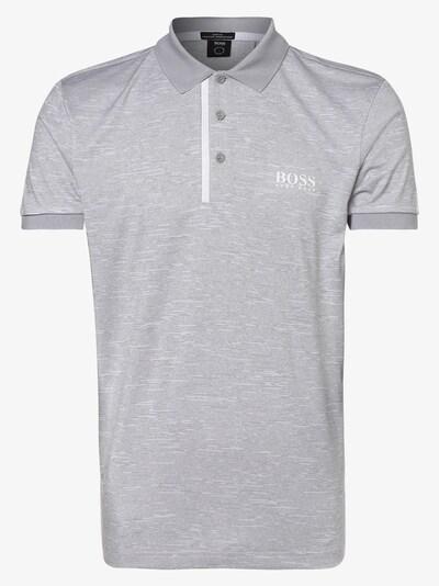 BOSS Casual Poloshirt in graumeliert, Produktansicht