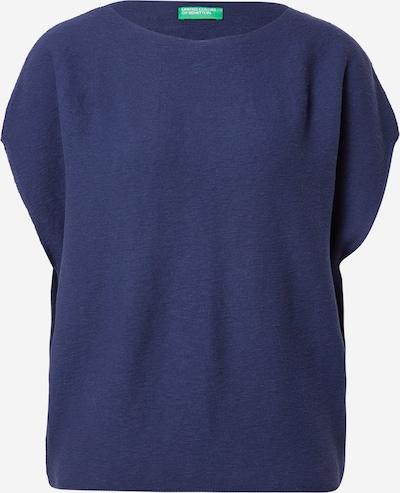 UNITED COLORS OF BENETTON Pull-over en bleu foncé, Vue avec produit