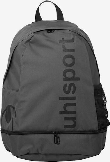 UHLSPORT Rucksack in dunkelgrau / schwarz, Produktansicht