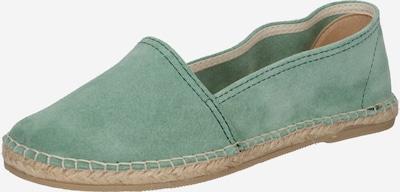 MACARENA Espadrilky 'Dama 2' - pastelově zelená, Produkt