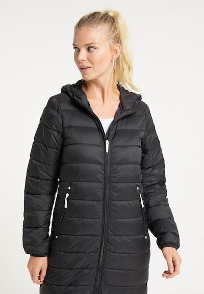 ICEBOUND Zimski plašč | črna barva, Prikaz modela
